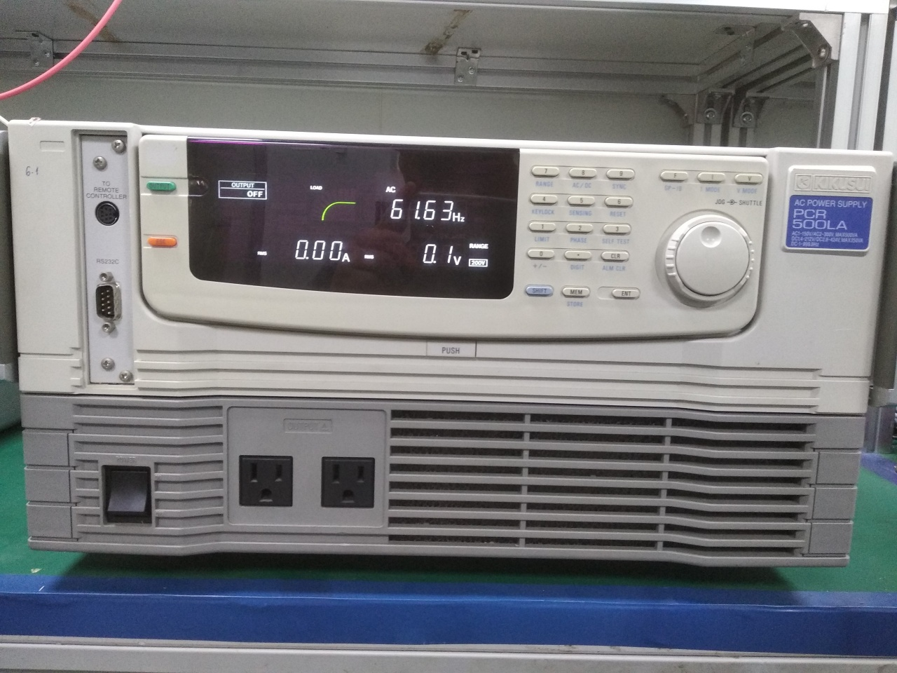 Thanh lý PCR 500 LA AC Power supply PCR500 Kikusui, bán PCR 500 LA AC Power supply PCR500 Kikusui cũ